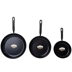 Green Earth Frying Pan Set With Textured Ceramic Home Kitche