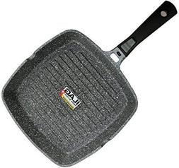Coninx Grill Pan With Detachable Handle | 100% PFOA Free Squ