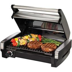 Hamilton Beach Searing Grill, Stainless Steel Removable And