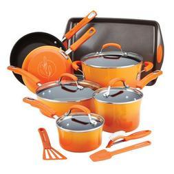 hard enamel nonstick cookware set