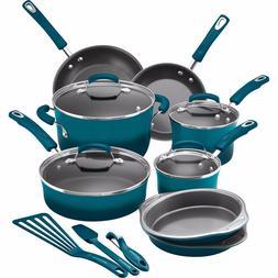 Rachael Ray Hard Enamel Nonstick Kitchen Cookware Pans Pots
