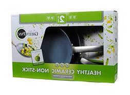 The Original Green Pan Healthy Ceramic Non Stick Pan 2 Piece
