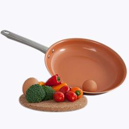 Healthy Chef's Copper Frying Pan With Nonstick Coating - Ind