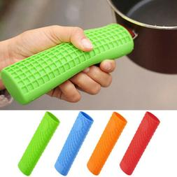 Heat-Resistance Silicone Frying Pan Handle Holder Anti Slip