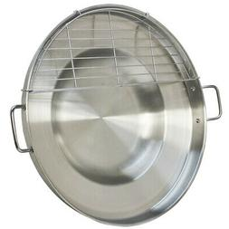 heavy duty 23 stainless steel concave comal