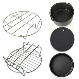 Home Air Frying Pan Accessories Fryer Baking Cookware sets