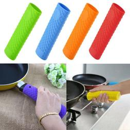 HOT Heat Insulation Silicone Saucepan Frying Pot Pan Handle
