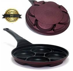 Kitchen Art IH Induction 4 Hole Multi Egg pan Frying pan Tit