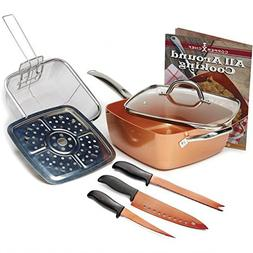 Jack Lalanne Copper Chef Set