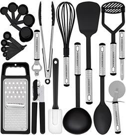 Kitchen Utensil Set - 23 Nylon Cooking Utensils - Kitchen Ut