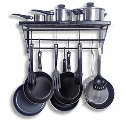 1a5292dd090 ZESPROKA Kitchen Wall Pot Pan Rack