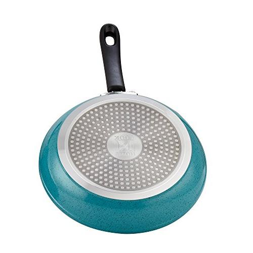 Cook N Home 12-Piece Turquoise Nonstick