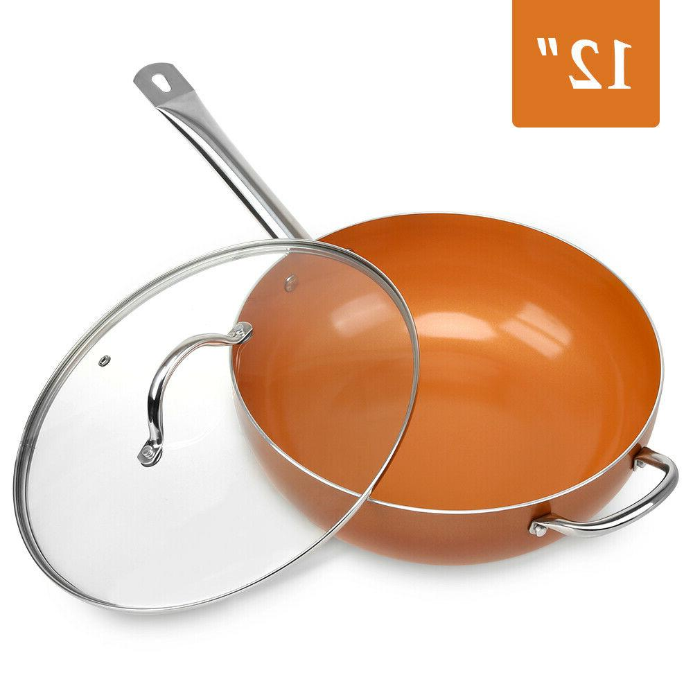 1 Stick Copper Induction Frying Pan