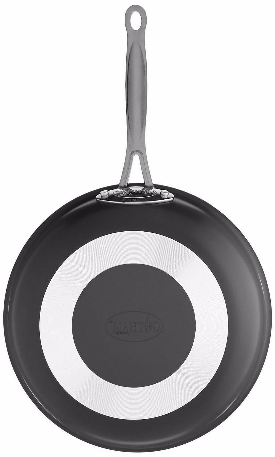 """GOTHAM STEEL Frying Pan Cookware Set + FREE 9.5"""" Pan"""