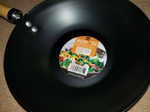 "10"" Wok Frying Pan Purpose"