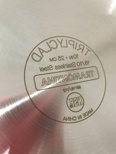 Tramontina Open Frying Steel Heavyweight