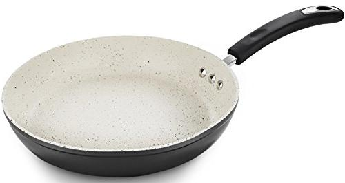"""12"""" Stone Frying Pan Stone-Derived Non-Stick Germany"""