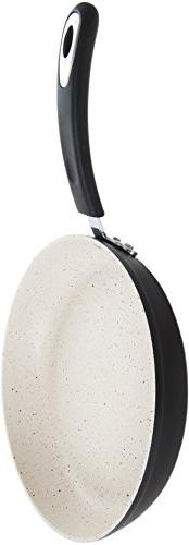 """12"""" Earth Pan 100% APEO Stone-Derived Non-Stick Coating Germany"""