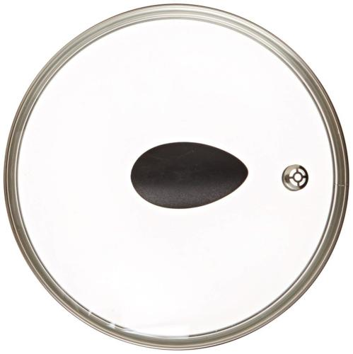 "12"" Earth Frying Pan Lid in Tempered Glass, by Ozeri"