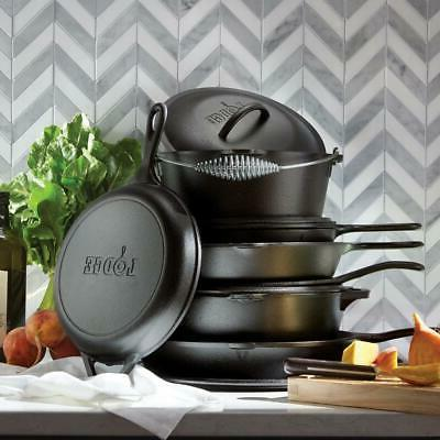 Lodge 12 in. Iron Durable Cookware Kitchen