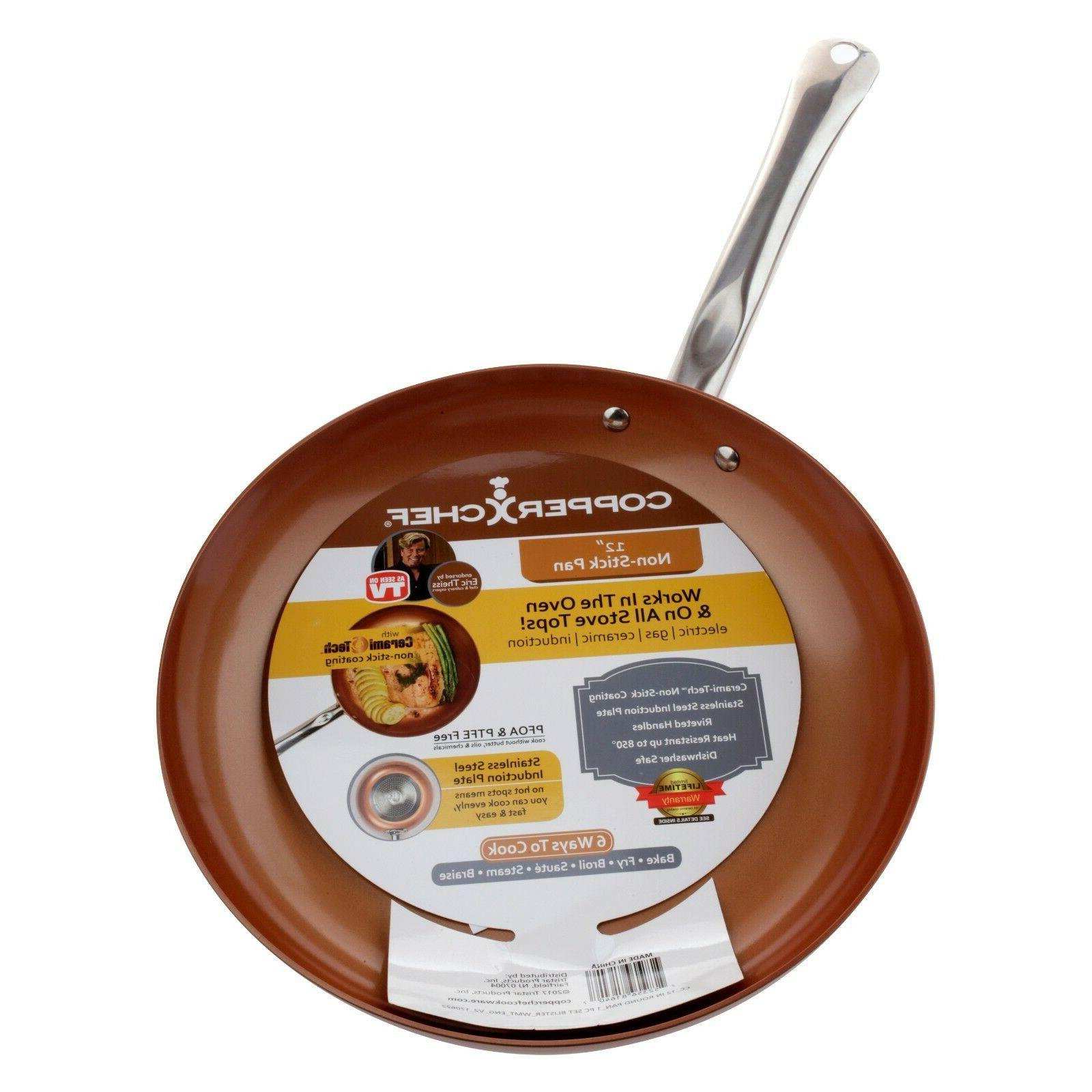 Copper Chef inch Non Pan with Seen