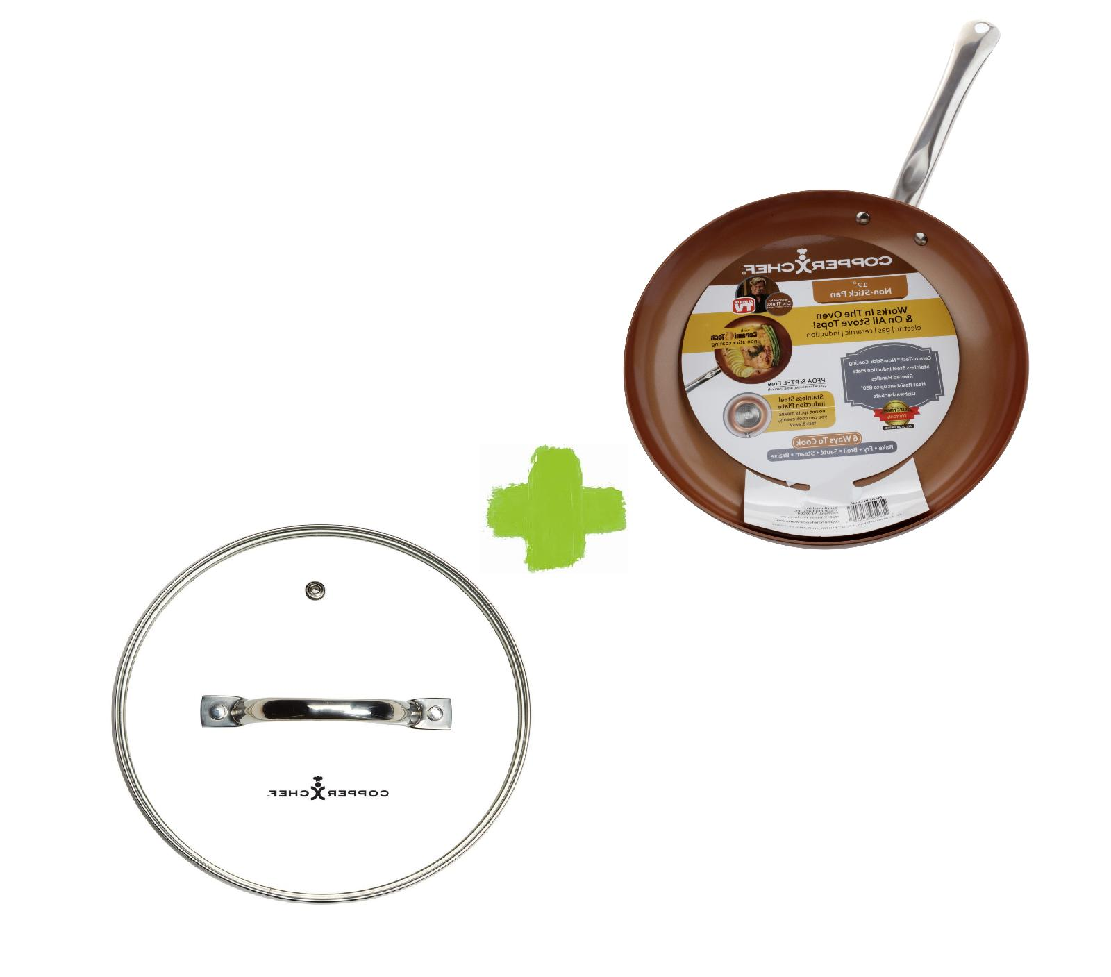 12 inch non stick round frying pan