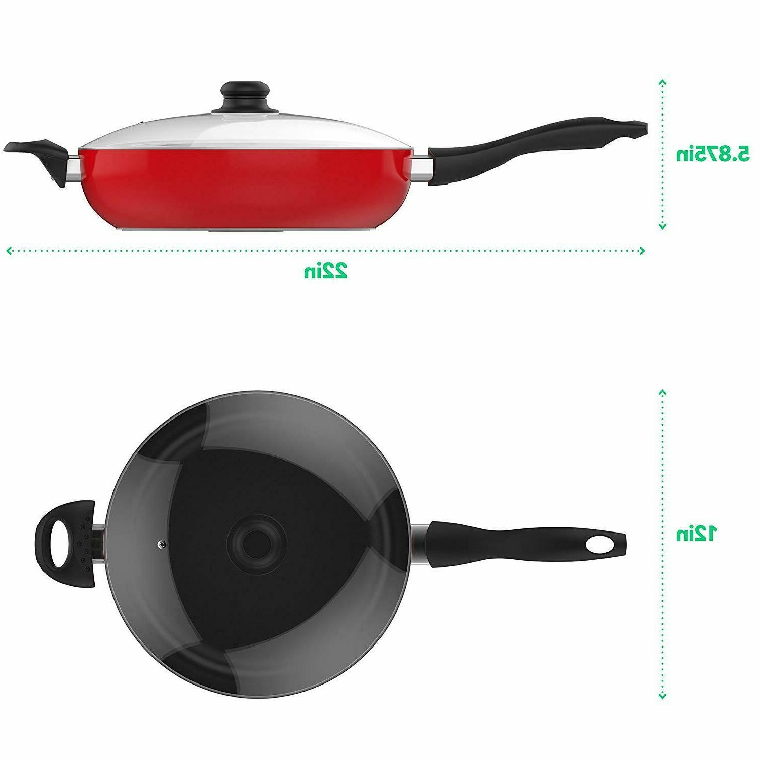 Vremi Saute 5 Quart Capacity Non and Frying