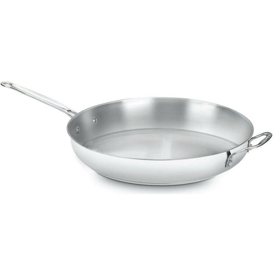 Cuisinart 14 in. Open Skillet Chef Saute Frying Pan Stainles