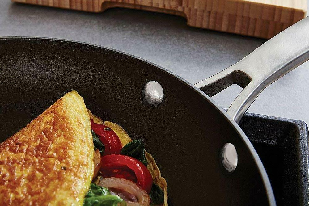 Calphalon Classic Non Stick Frying Pan With Cover 12 Inch