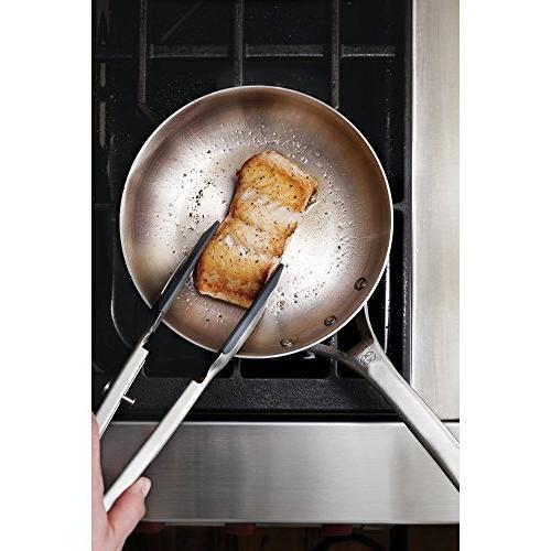 Calphalon Steel Omelet Silver