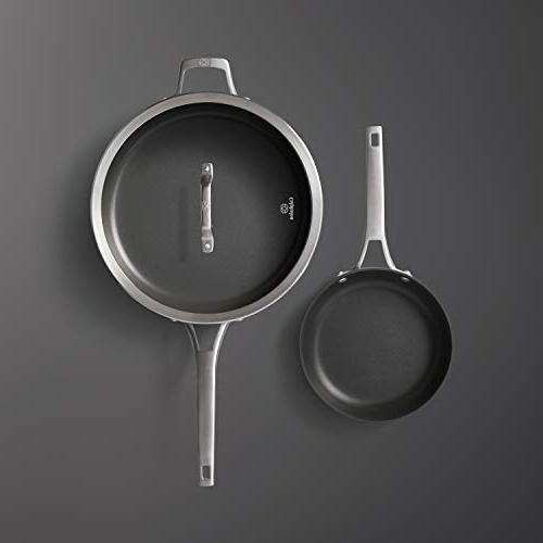 Calphalon 2029636 Premier Nonstick 2-Piece Frying Pan Set,