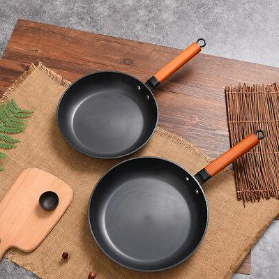 26/28cm Non-stick Restaurant Cooking Egg Steak Frying Pan Fl