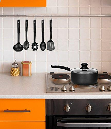 Utopia 3 Quart with - 8 Inches Riveted - Multipurpose for Home Kitchen
