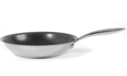 8 Stainless Pan a 100% PFOA-Free Non-Stick Coating developed in the USA
