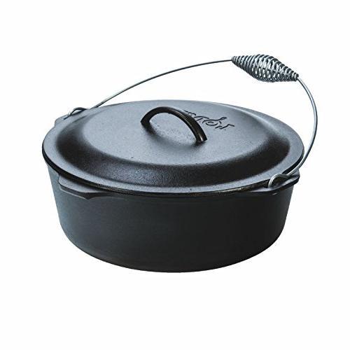 Lodge 9 Quart Cast Iron Dutch Oven