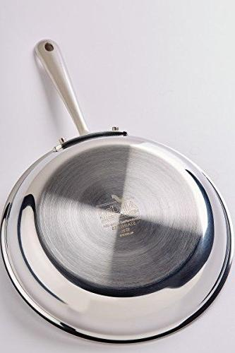Silver 9-Inch All-Clad 4709 NS R2 18//10 Stainless Steel 3-Ply Bonded Nonstick Egg Perfect Fry Pan Skillet
