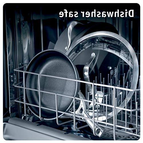 Calphalon Contemporary Hard-Anodized Aluminum Nonstick Pan, Set, Black