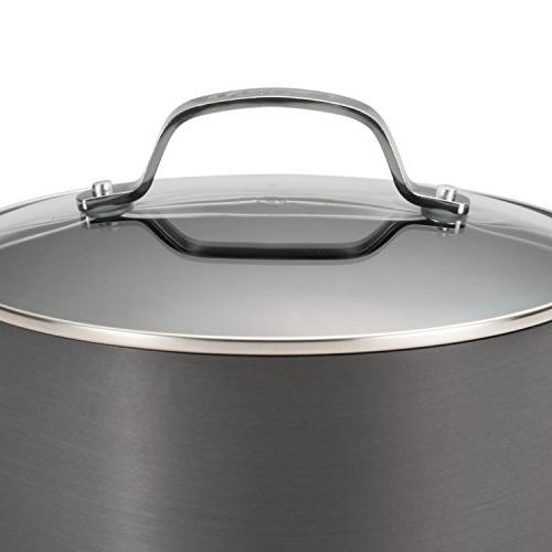 Circulon Genesis Hard-Anodized 10-Piece Cookware