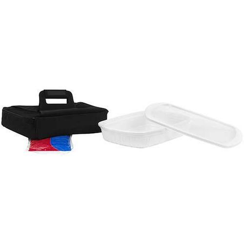 CorningWare French White Anyware 3-Quart Oblong Portable Dis