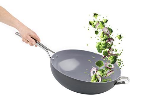 GreenPan 12.5 Inch Ceramic Non-Stick Wok