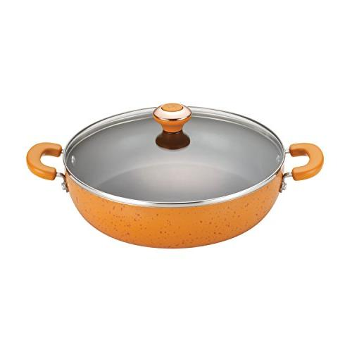 Paula Deen Signature Porcelain Nonstick 12-Inch Covered Chic