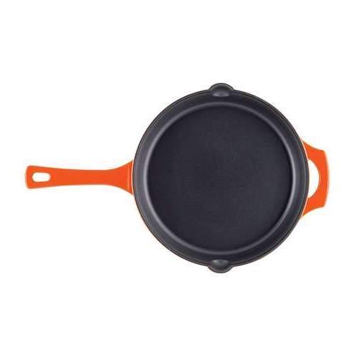 Rachael Cast Iron 12-Inch Handle and Pour Spouts, Orange