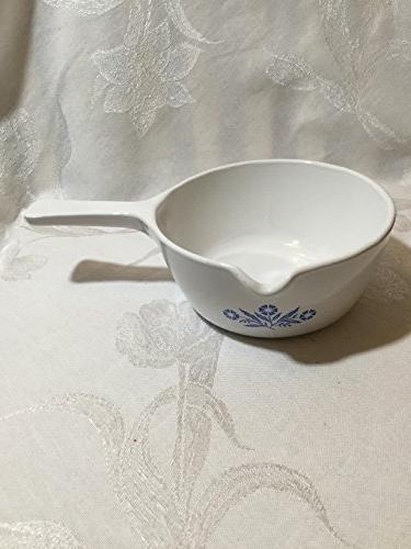 Vintage Corningware Blue Cornflower 2 1/2  Cup Saucepan with