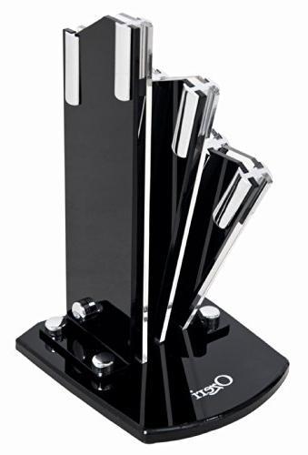 adjustable ceramic knife stand