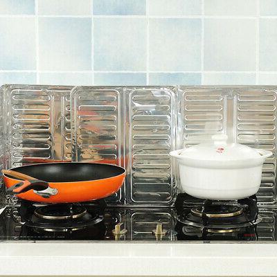 Kitchen Cooking Frying Pan Oil Splash Screen Cover Anti Spla