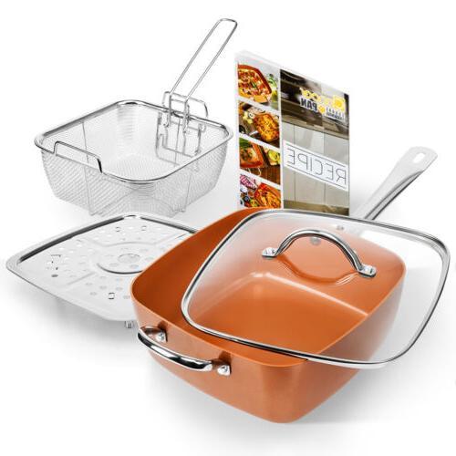 Best Non-Stick Copper Bottom Pan Kitchen Cookware