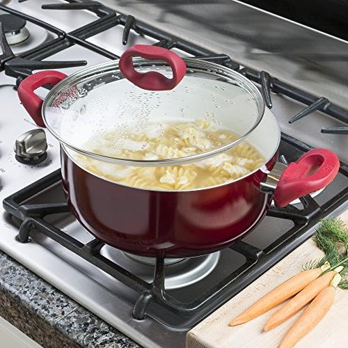 Ecolution Bliss 5 Qt  Non-Stick Dutch Oven W/Tempered