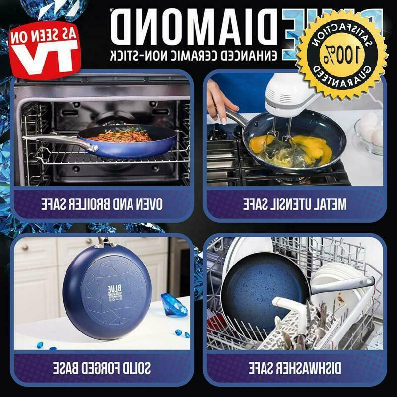 Blue Free Open Frypan,