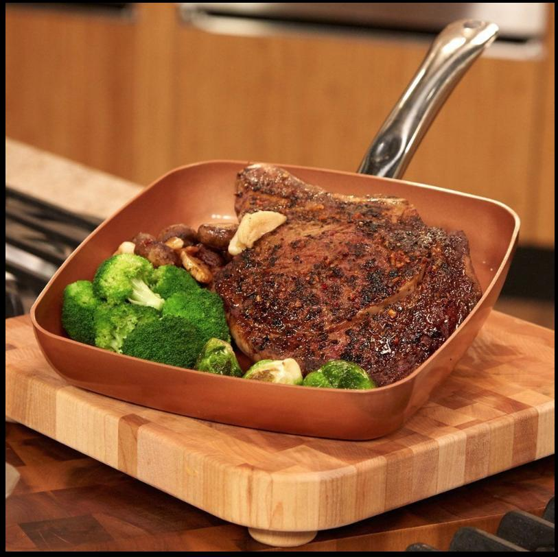 BRAND NEW Copper Chef Ceramic Frying Pan AS SEEN **