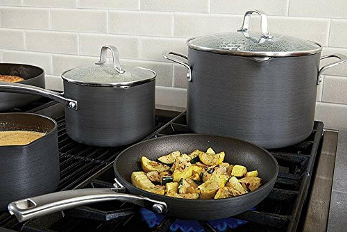 Calphalon Nonstick Fry Grey Frying
